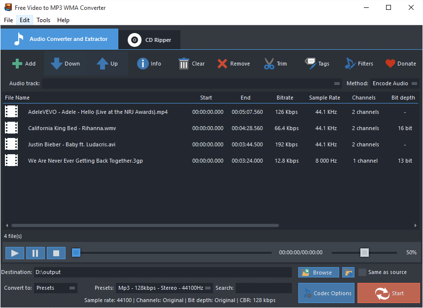 Best Free Video to MP3 Converter Software Review – Free